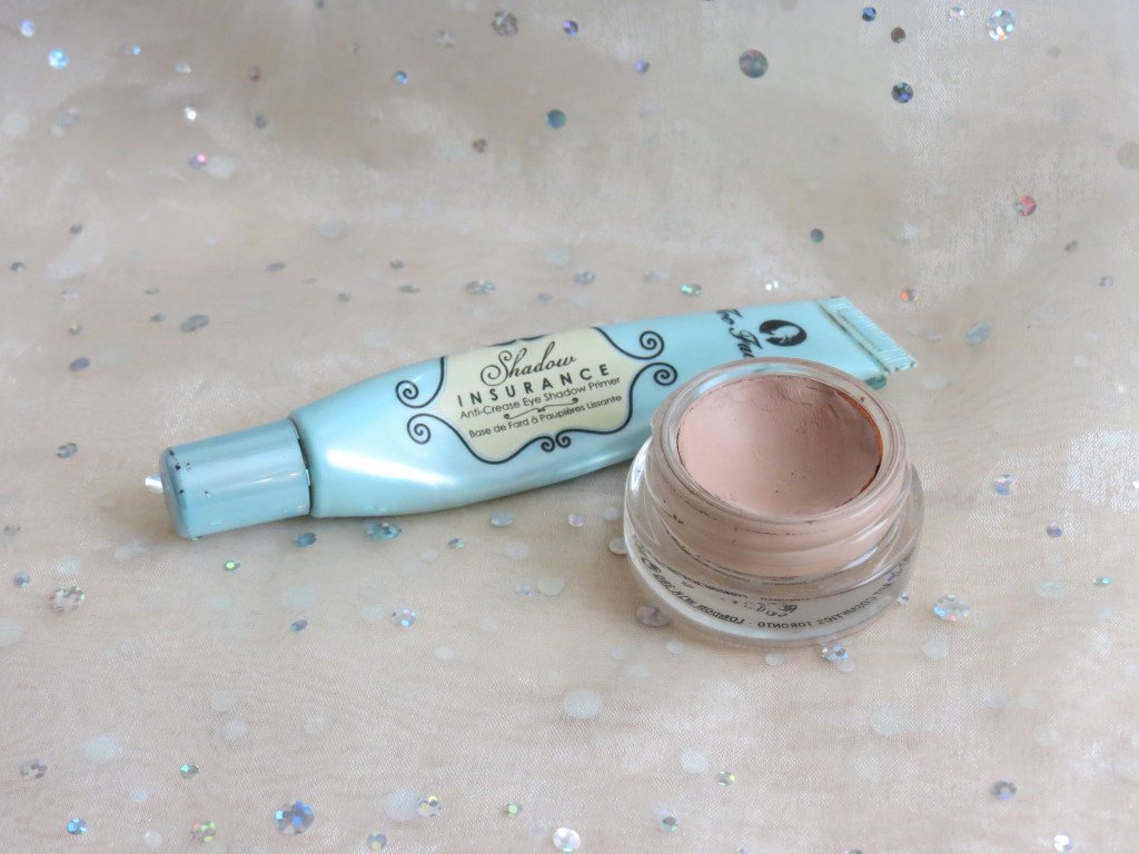 Too Faced and Mac shadow primers