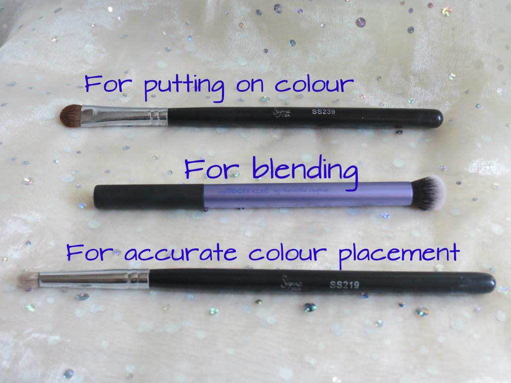Brushes for eyeshadow