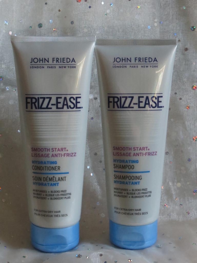 John Frieda Frizz ease shampoo and conditioner