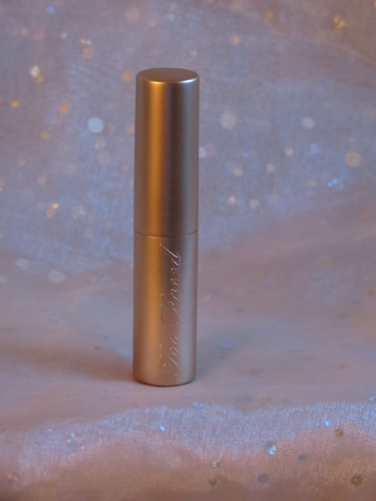 Too Faced Lip Cream Gold Packaging