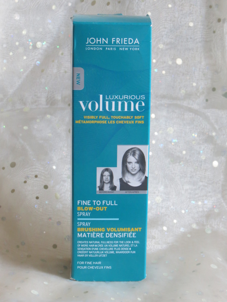 John frieda fine to full blow-out spray