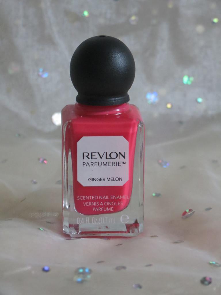 Revlon Parfumerie nail enamels ginger melon