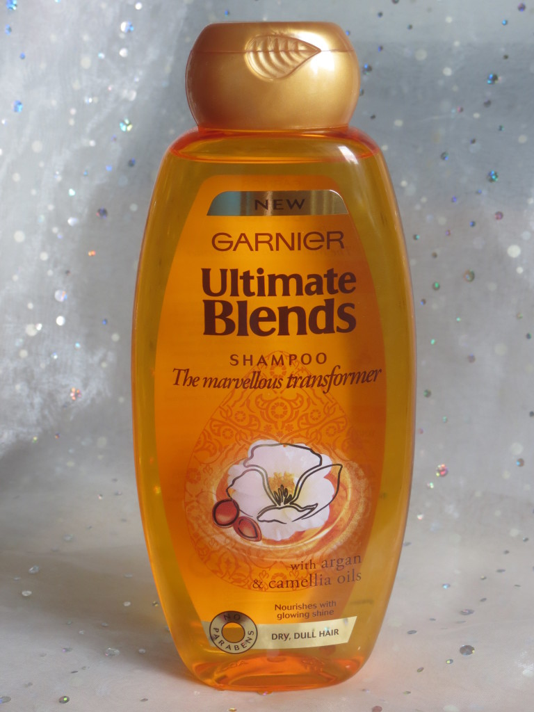 Garnier Ultimate Blends Shampoo for Dry and Dull Hair