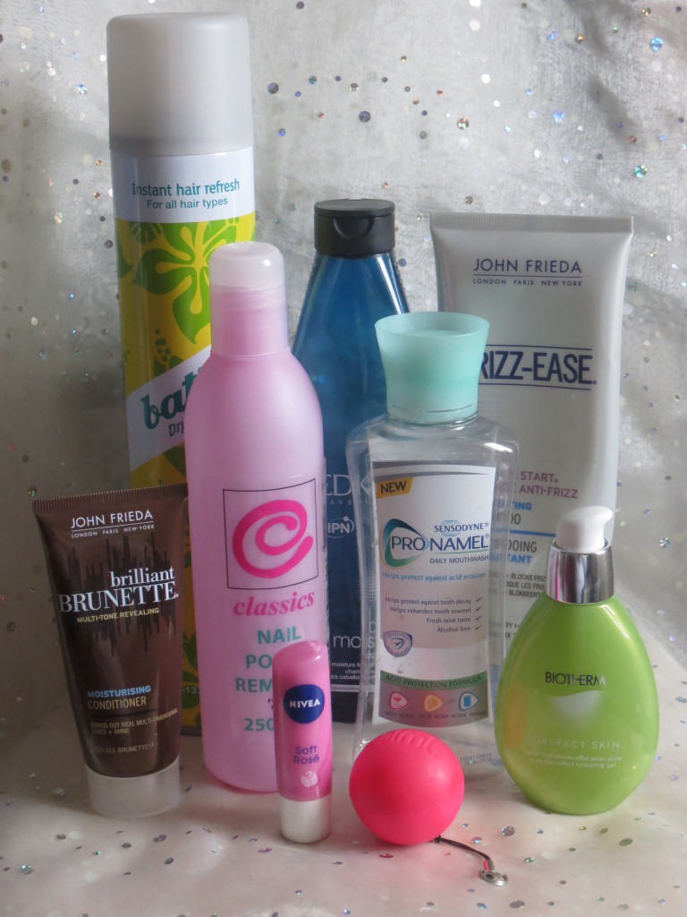 beautybookblog empties